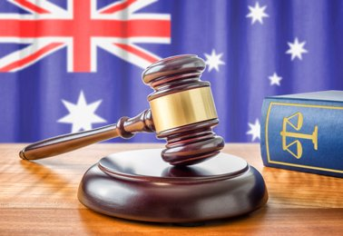 Australian flag and gavel thumbnail8