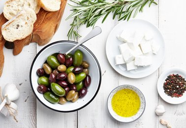 Greek cuisine ingredients thumb