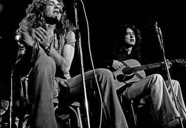 Led Zeppelin acoustic 1973 thumb