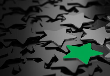 award stars green pop thumb